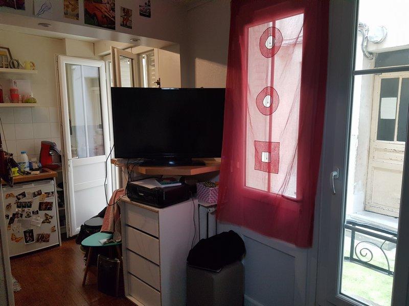 Studio chambre et cuisine bon état