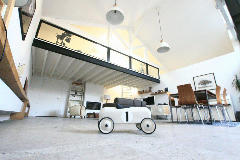 Maison type Loft 3 chambres patio garage