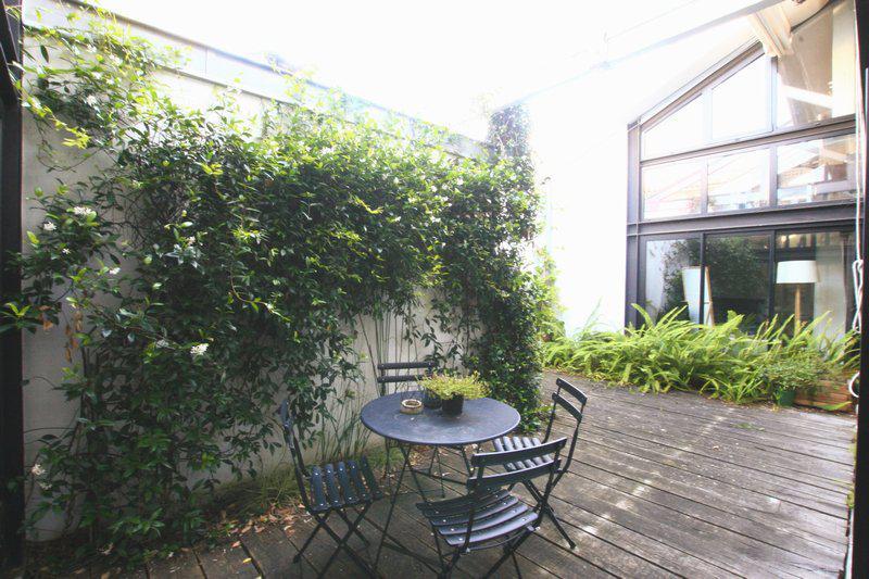 Maison type Loft 3 chambres patio garage
