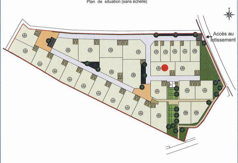 Terrain constructible 370m2 exclu cadre privé
